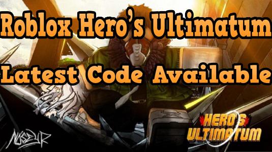 Hero's Ultimatum Codes