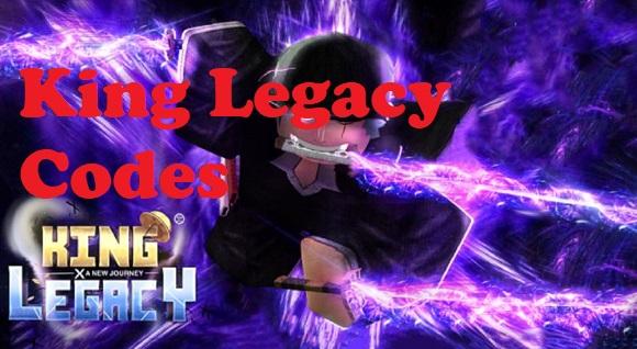 King Legacy Codes