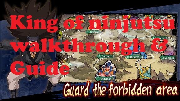 King of ninjutsu walkthrough